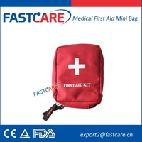 Emergency First Aid Travel Kit Bag With CE FDA 2