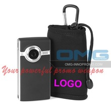 Custom Imprint Promotional Neoprene Mobile Phone Case/Video Camera Pouch/Phone Sleeve/MP3 MP44Bag/Cover