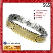 Executive Brushed Symmetry cheap custom stainless steel &titanium bracelets 2015