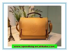 YIWU 2014 Classic fashion of the single shoulder strap zipper pu handbag inclined shoulder bag