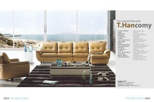 Popular Pure Leather Living Room Sofas