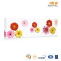 de alta calidad decorativa margaritas flores de pintura al óleo sobre lienzo