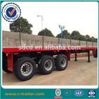 tri-axle flatbed 40ft semi trailer dimensions