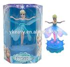 2014 Hot Popular Frozen Elsa Flying Fairy With Musi