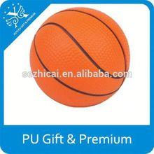 top sale imprinted toys pu basket ball