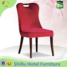 Metal Luxury Dining Chair, Leather Dining Chair For Hotel