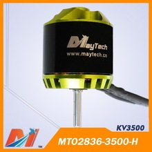 Maytech rc plane motor 2836 3500 KV for Mini Remote Control