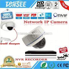 SONY COMS 1080P 2.0 MegaPixel HD vandalproof indoor digital video camera,Network CCTV System NVR Kit