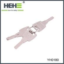 2015 Factory direct sale iron padlock and keys