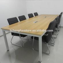simple hot sale table/conference desk/melamine office desk