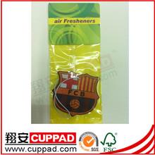 Supply incense burner shape target paper air fresheners,car fresheners