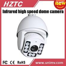 HZTC PTZ Camera IR High speed dome waterproof analog camera