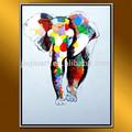 CTD-00859 modern art paintings elephant wild animal painting