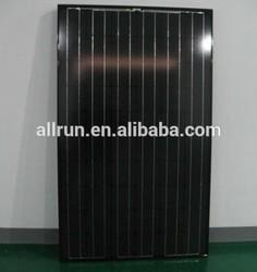 2014 new design black solar panel 300w