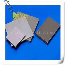pvc sheet rigid in grey