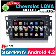 "SharingDigital 7"" touch screen dvd car audio navigation system for chevrolet lova"