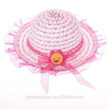 2014 fashion children straw paper hat