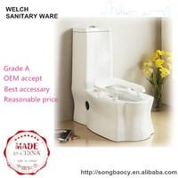 8036 Dual-purpose closestool ceramic squatting pan toilet design