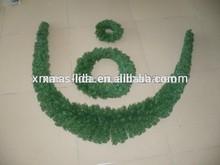 green grass christmas garland christmas yard decoration