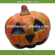 Ghost face halloween pumpkin decoration
