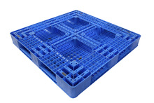 1200x1200x150mm, Single Face Crossing-Ventilated HDPE or PP Pallet