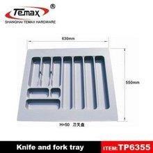 TP6355 New designs melamine plastic food serving tray