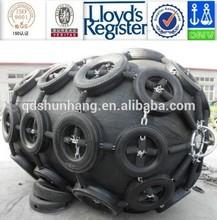 Yokohama Pneumatic marine fender with Tyre-chain