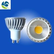 gu10 led spotlight 120 degree beam angle with CE ROHS