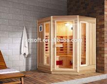 Hot sale ETL RoHS outdoor steam sauna room