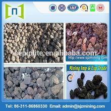 Volcanic rock stone tile/ dark grey stone tile,outdoor stone tile,volcanic rock stone tile