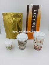 plastic coffee packaging bag
