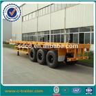40ft tri-axle flatbed trailer dimensions