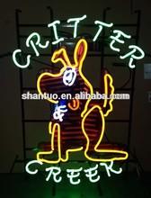 cuteness dog Critter Creek neon sign factory China