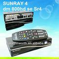 Großhandel satellitenempfänger- Sunray sr4 800 hd se mit dvb-s/c/t drei tuner digitale satelliten-receiver mit wifi Sunray sr4