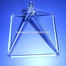 clear quartz crystal singing pyramid