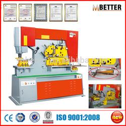 Angle steel notching machine