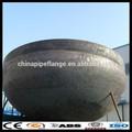 grandi dimensioni in acciaio al carbonio astm a 234 tappo del tubo piatto cupola tappi