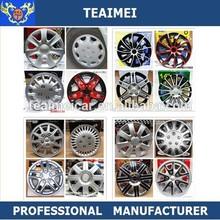 Colorful universal chrome car wheel cover Plastic wheel center hub cap
