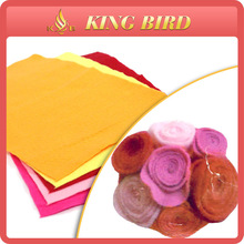 2014 high quality nonwoven colorful properties of felt fabric
