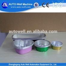renkli çevre alüminyum folyo yoğurt kabı