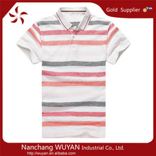 Wholesale fashion design brand fancy polo t-shirt men t-shirt polo garment dyed