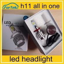 super bright led headlight 3000lumen auto led bulb h11 12 month warranty