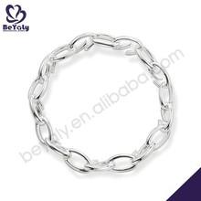 Shiny chain design chic high quality silver925 bracelet
