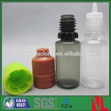 Plastic PET 10ml e-liquid bottle black PET bottle wholesale New Arrival