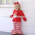 الجملة الطفل بوتيك الملابس طفل رضيع الفتيات الفتيات ملابس الاطفال ملابس عيد الميلاد استيراد من الصين