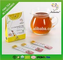 Instant Lemon Black Tea Extract Powder Triangle Teabag Oem