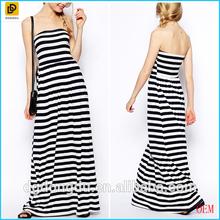 China supplier guangzhou clothing wholesale striped women clothing