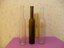 250ml - 1000 ml Square rounded olive oil glass bottle