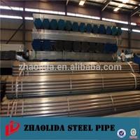black steel pipe dimension