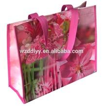 promotional pp woven pp shopping bag